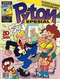 Cover Thumbnail for Pyton Spesial [Spesial Pyton] (Bladkompaniet / Schibsted, 1990 series) #4/1991