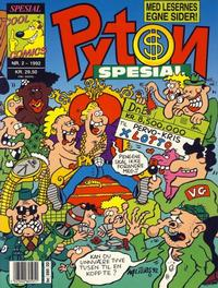 Cover Thumbnail for Pyton Spesial [Spesial Pyton] (Bladkompaniet / Schibsted, 1990 series) #2/1992