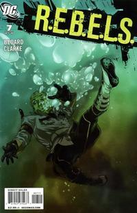 Cover Thumbnail for R.E.B.E.L.S. (DC, 2009 series) #7