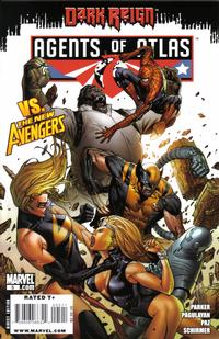 Cover Thumbnail for Agents of Atlas (Marvel, 2009 series) #5