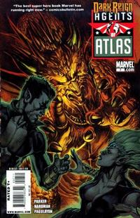 Cover Thumbnail for Agents of Atlas (Marvel, 2009 series) #7