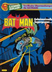 Cover Thumbnail for Batman Sonderausgabe (Egmont Ehapa, 1981 series) #3