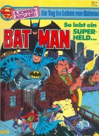 Cover Thumbnail for Batman Sonderausgabe (Egmont Ehapa, 1981 series) #5