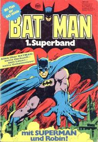 Cover Thumbnail for Batman Superband (Egmont Ehapa, 1974 series) #1