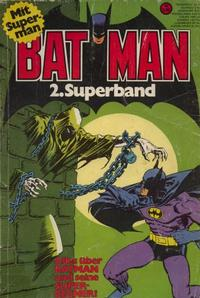 Cover Thumbnail for Batman Superband (Egmont Ehapa, 1974 series) #2