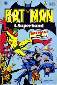 Cover Thumbnail for Batman Superband (Egmont Ehapa, 1974 series) #3