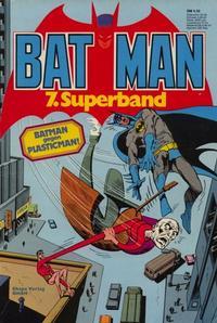 Cover Thumbnail for Batman Superband (Egmont Ehapa, 1974 series) #7