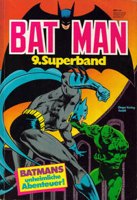 Cover Thumbnail for Batman Superband (Egmont Ehapa, 1974 series) #9
