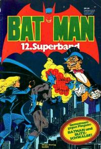 Cover Thumbnail for Batman Superband (Egmont Ehapa, 1974 series) #12