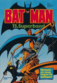 Cover Thumbnail for Batman Superband (Egmont Ehapa, 1974 series) #13
