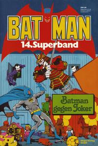 Cover Thumbnail for Batman Superband (Egmont Ehapa, 1974 series) #14