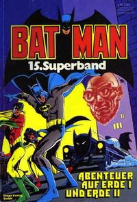 Cover Thumbnail for Batman Superband (Egmont Ehapa, 1974 series) #15