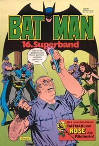 Cover Thumbnail for Batman Superband (Egmont Ehapa, 1974 series) #16