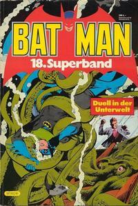Cover Thumbnail for Batman Superband (Egmont Ehapa, 1974 series) #18