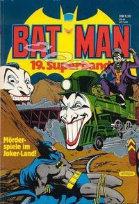 Cover Thumbnail for Batman Superband (Egmont Ehapa, 1974 series) #19