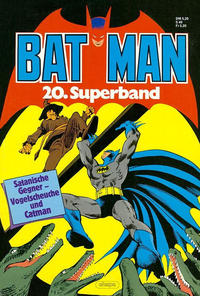 Cover Thumbnail for Batman Superband (Egmont Ehapa, 1974 series) #20
