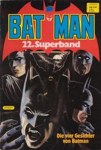 Cover Thumbnail for Batman Superband (Egmont Ehapa, 1974 series) #22