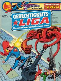 Cover Thumbnail for Gerechtigkeitsliga (Egmont Ehapa, 1977 series) #1