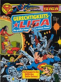 Cover Thumbnail for Gerechtigkeitsliga (Egmont Ehapa, 1977 series) #13