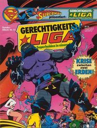 Cover Thumbnail for Gerechtigkeitsliga (Egmont Ehapa, 1977 series) #15