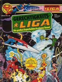 Cover Thumbnail for Gerechtigkeitsliga (Egmont Ehapa, 1977 series) #18