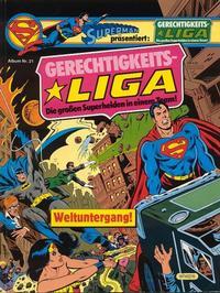Cover Thumbnail for Gerechtigkeitsliga (Egmont Ehapa, 1977 series) #21