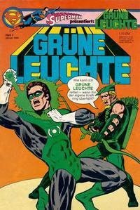 Cover Thumbnail for Grüne Leuchte (Egmont Ehapa, 1979 series) #1/1980