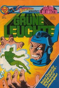 Cover Thumbnail for Grüne Leuchte (Egmont Ehapa, 1979 series) #4/1981
