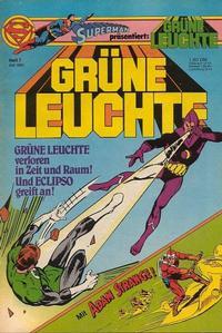 Cover Thumbnail for Grüne Leuchte (Egmont Ehapa, 1979 series) #7/1981