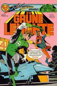 Cover Thumbnail for Grüne Leuchte (Egmont Ehapa, 1979 series) #13/1981