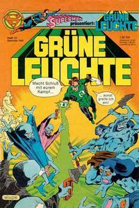 Cover Thumbnail for Grüne Leuchte (Egmont Ehapa, 1979 series) #12/1982