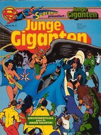 Cover Thumbnail for Junge Giganten (Egmont Ehapa, 1981 series) #3
