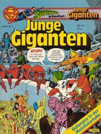 Cover Thumbnail for Junge Giganten (Egmont Ehapa, 1981 series) #8