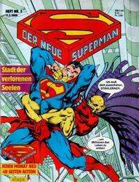 Cover Thumbnail for Der Neue Superman (Egmont Ehapa, 1987 series) #5/1988