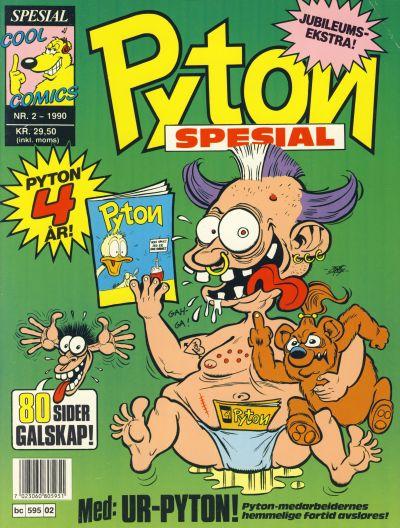 Cover for Pyton Spesial [Spesial Pyton] (Bladkompaniet, 1990 series) #2/1990