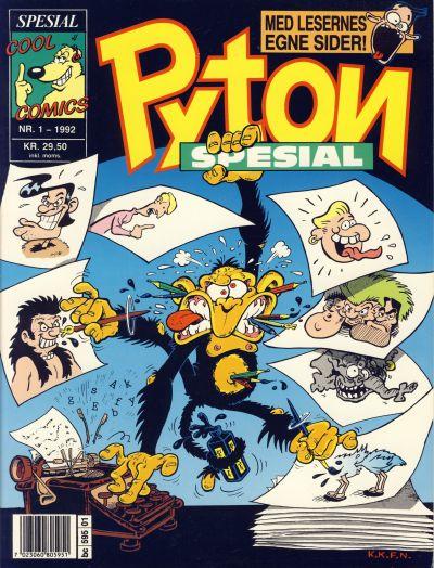 Cover for Pyton Spesial [Spesial Pyton] (Bladkompaniet, 1990 series) #1/1992
