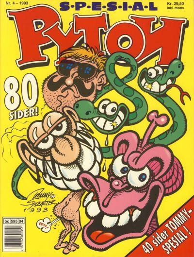 Cover for Pyton Spesial [Spesial Pyton] (Bladkompaniet, 1990 series) #4/1993