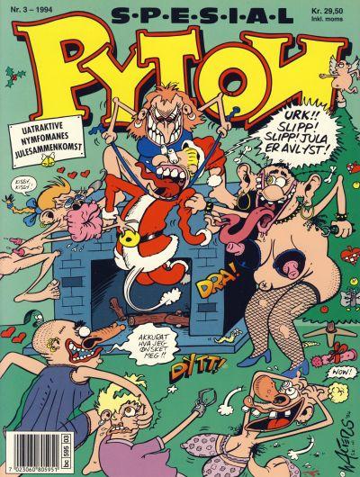 Cover for Pyton Spesial [Spesial Pyton] (Bladkompaniet / Schibsted, 1990 series) #3/1994 / 104 B