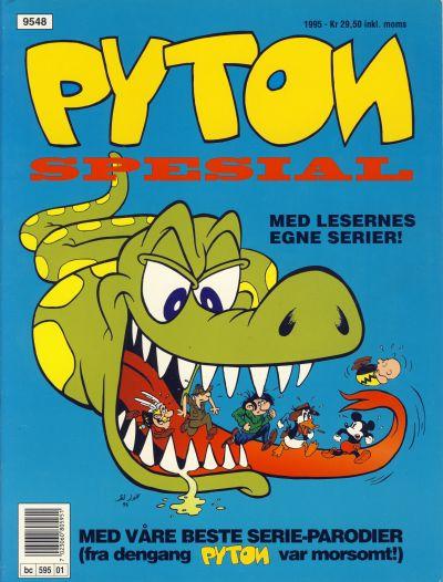 Cover for Pyton Spesial [Spesial Pyton] (Bladkompaniet / Schibsted, 1990 series) #1/1995