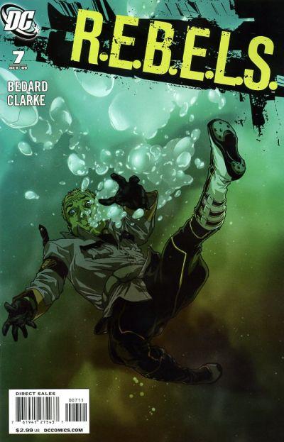 Cover for R.E.B.E.L.S. (DC, 2009 series) #7