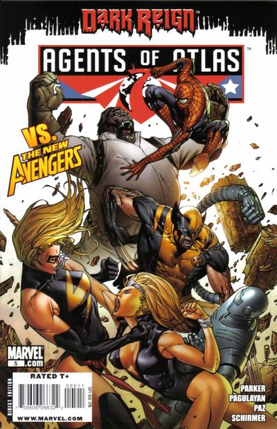 Cover for Agents of Atlas (Marvel, 2009 series) #5