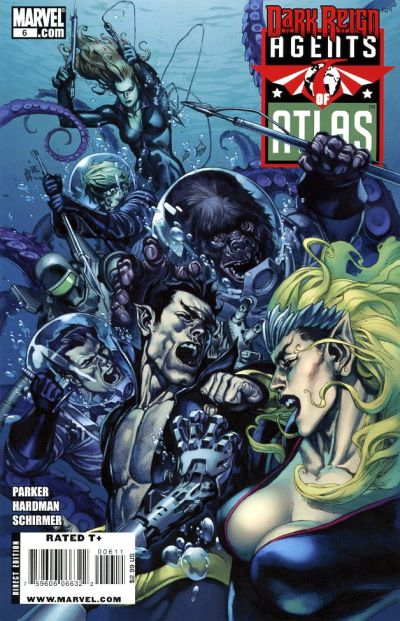 Cover for Agents of Atlas (Marvel, 2009 series) #6