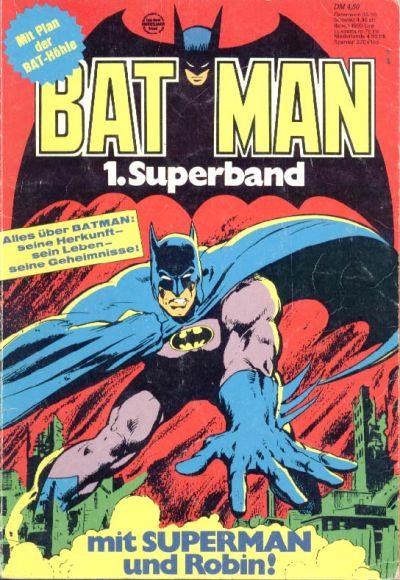 Cover for Batman Superband (Egmont Ehapa, 1974 series) #1