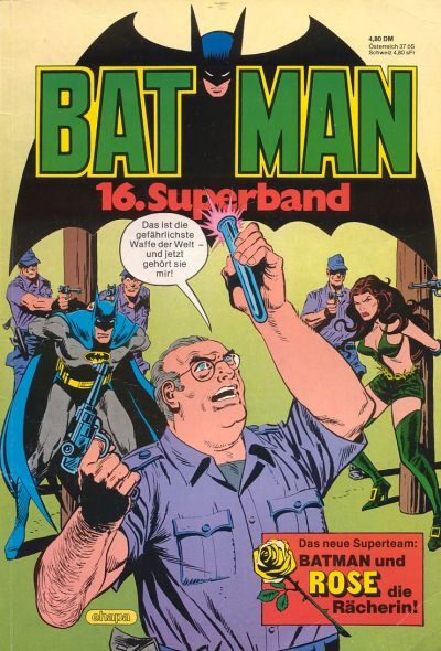Cover for Batman Superband (Egmont Ehapa, 1974 series) #16