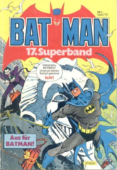 Cover for Batman Superband (Egmont Ehapa, 1974 series) #17