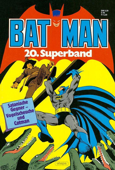 Cover for Batman Superband (Egmont Ehapa, 1974 series) #20