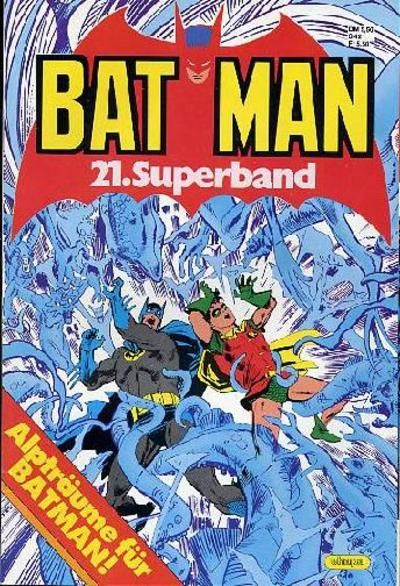 Cover for Batman Superband (Egmont Ehapa, 1974 series) #21