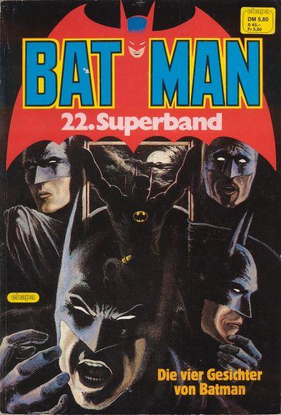 Cover for Batman Superband (Egmont Ehapa, 1974 series) #22
