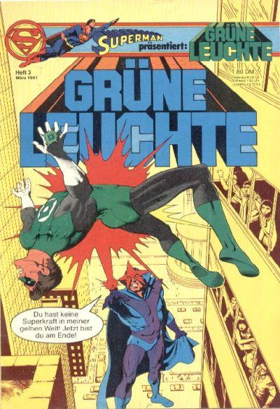 Cover for Grüne Leuchte (Egmont Ehapa, 1979 series) #3/1981