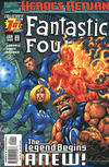 Cover for Fantastic Four (Marvel, 1998 series) #1 [Direct Edition]